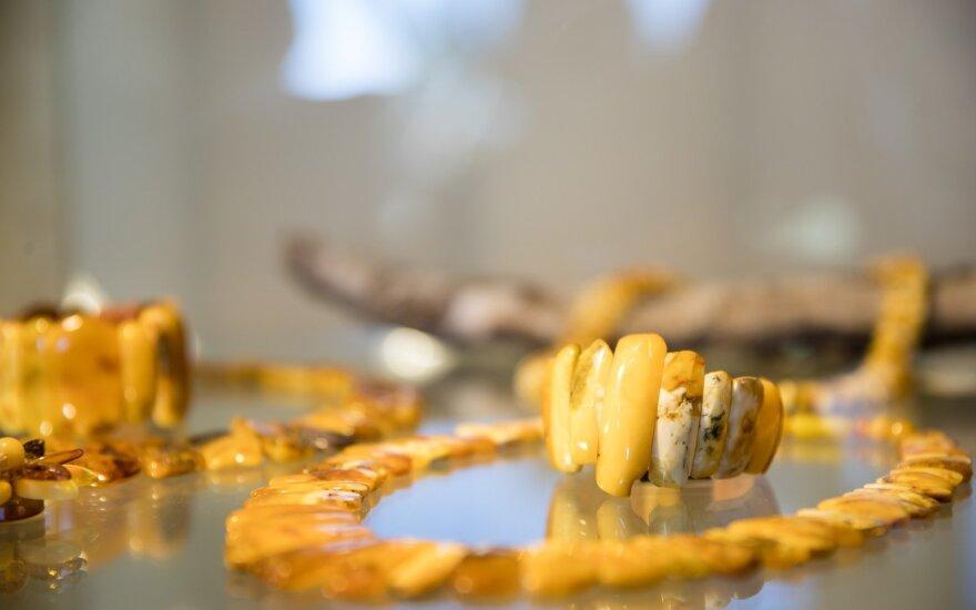 В Литву пытались нелегально ввезти почти 3 кг янтаря