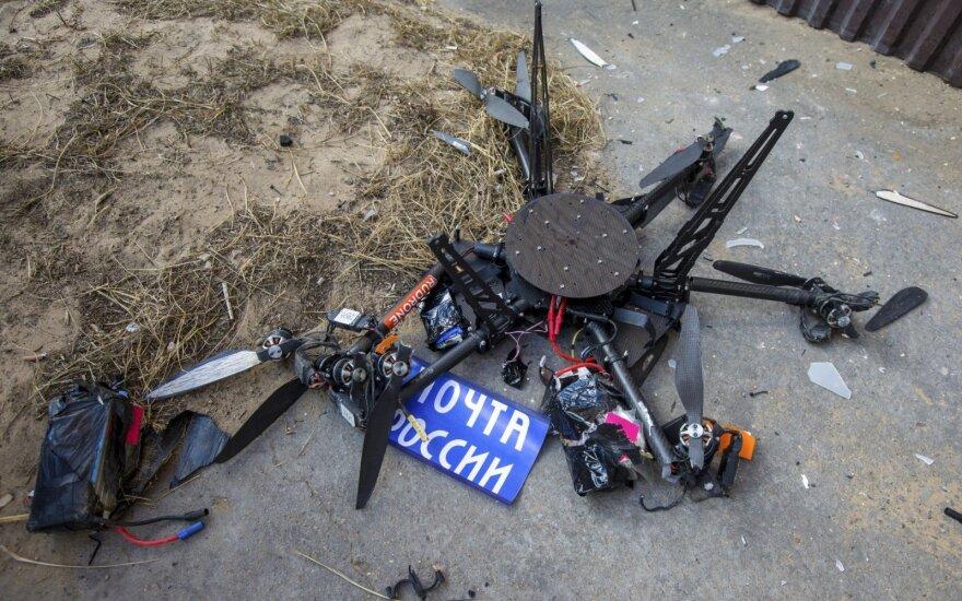 Rusijoje sudužo pašto dronas