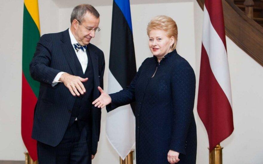 Toomas Hendrikas Ilvesas ir Dalia Grybauskaitė