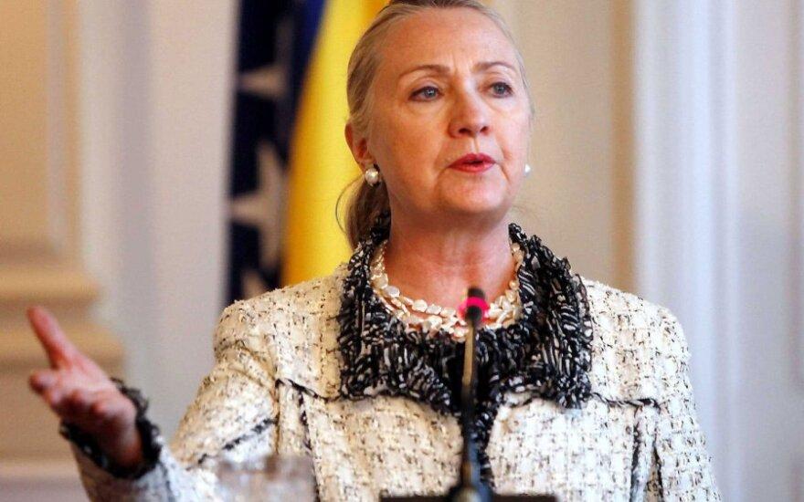 Хиллари Клинтон выписана из больницы