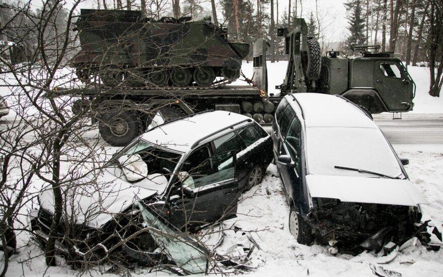 На Неменчинском шоссе столкнулись автомобили, есть пострадавшие