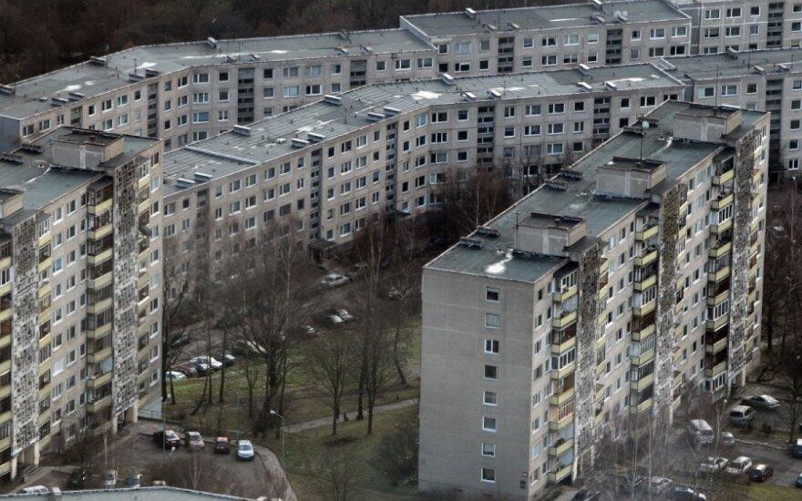 Medžiagos, iš kurių buvo statyti sovietniai daugiabučiai, negali prilygti dabartinėms medžiagoms