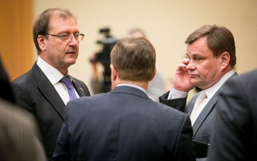 Viktoras Uspaskichas ir Vydas Gedvilas