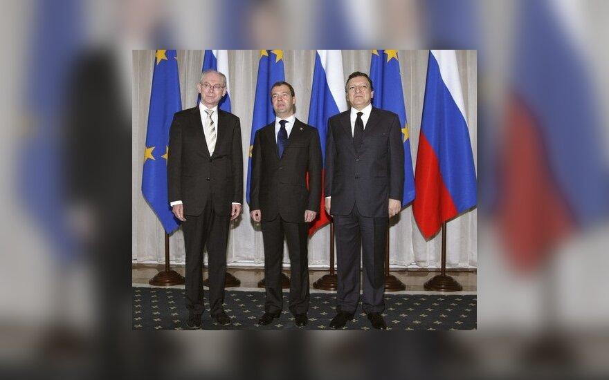 Саммит Россия-ЕС: ВТО, визы и соглашение о партнерстве