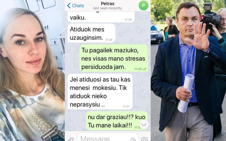 Birutė Navickaitė, Petras Gražulis