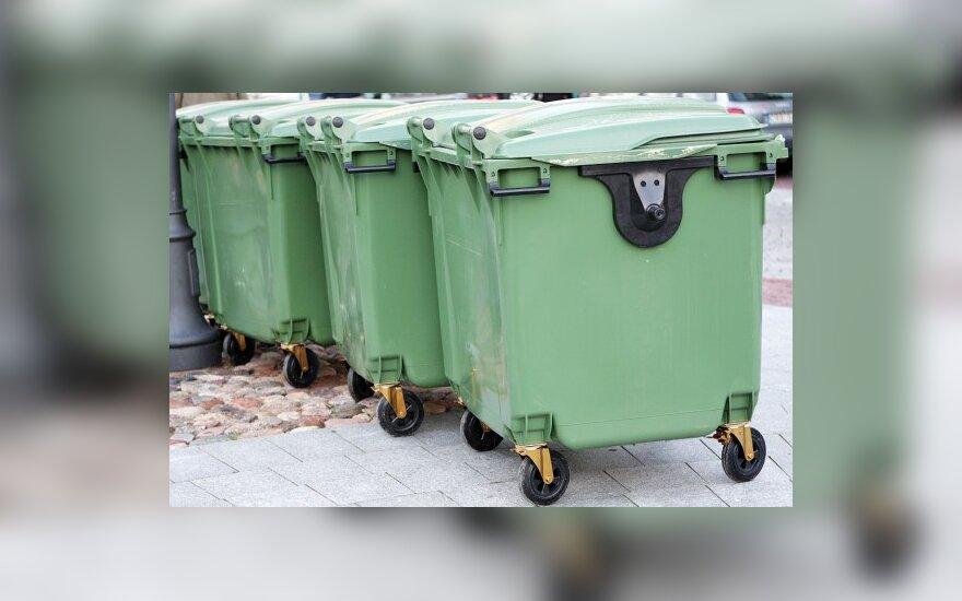 Жители Каунаса будут платить за вывоз мусорa от площади квартир
