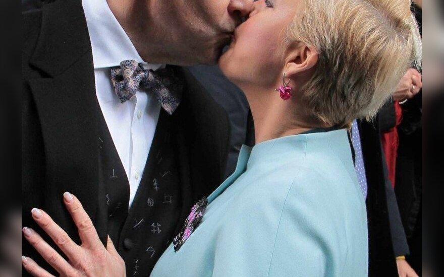 Toomas Hendrikas Ilvesas su žmona Evelin Ilves