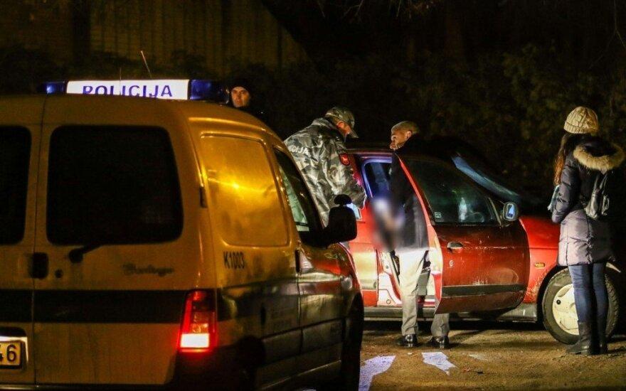 Выстрел в Каунасе: в автомобиле - труп мужчины