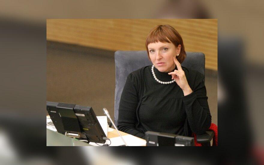 Бывшая помощница А.Баукуте подала на нее заявление в Генпрокуратуру