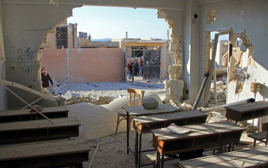 Россия отрицает причастность к гибели детей при ударе по школе в Сирии
