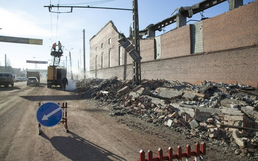 Rusijos Čeliabinske nukrito meteoritas