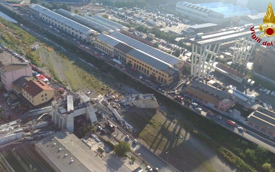 ВИДЕО: В Генуе взорвали мост, на котором погибли 43 человека