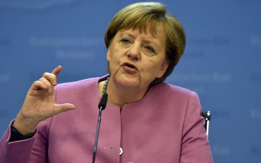 Меркель назвала условия отмены санкции против России