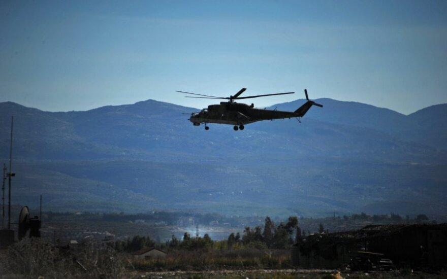 Боевики ИГ сбили под Пальмирой вертолет Ми-25: российский экипаж погиб