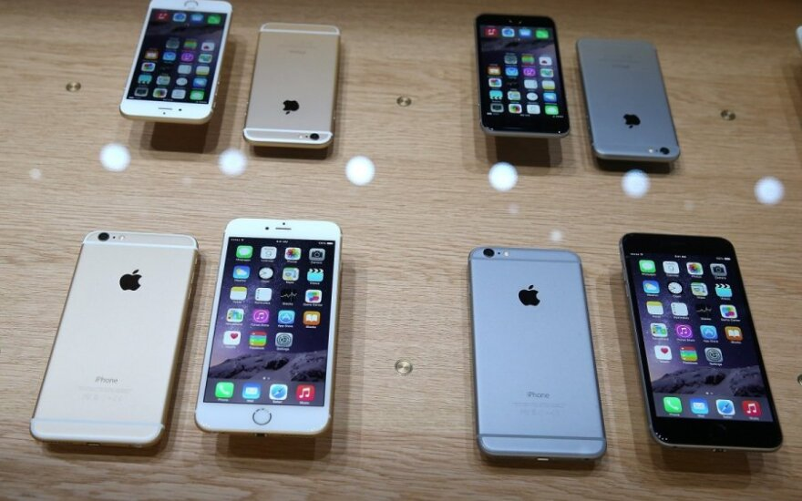 """""""iPhone 6"""" ir """"iPhone 6 Plus"""""""