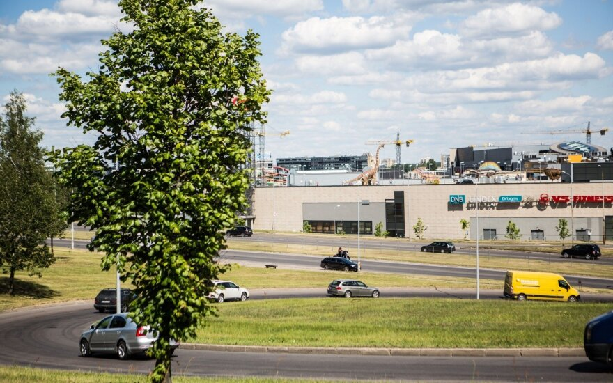 На крыше торгового центра в Вильнюсе откроется динопарк