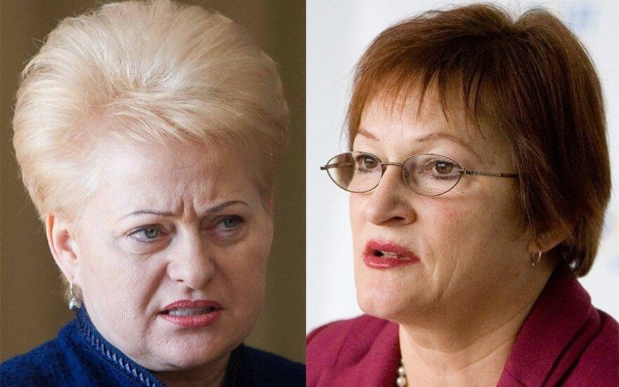 Грибаускайте: премьер должен искать другого кандидата на пост министра