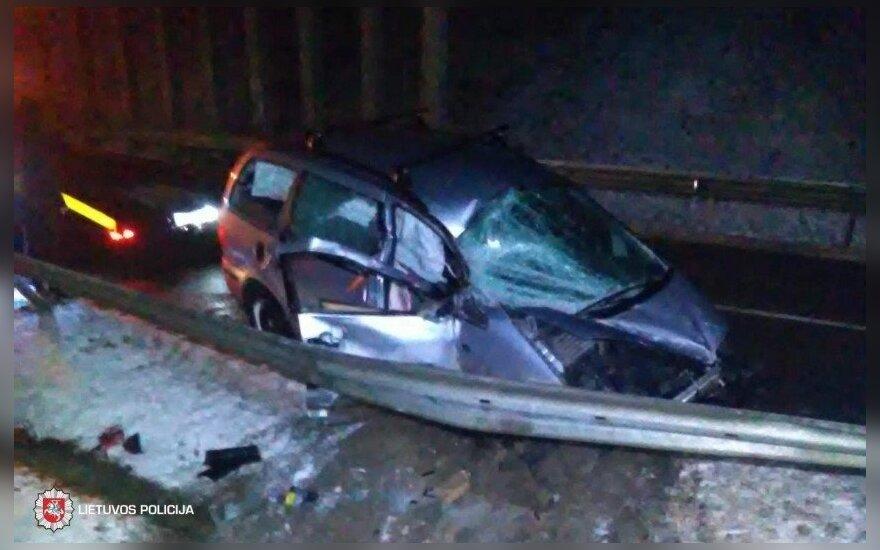 ДТП в Ширвинтском районе: пьяный водитель с авто упал с виадука и не пострадал
