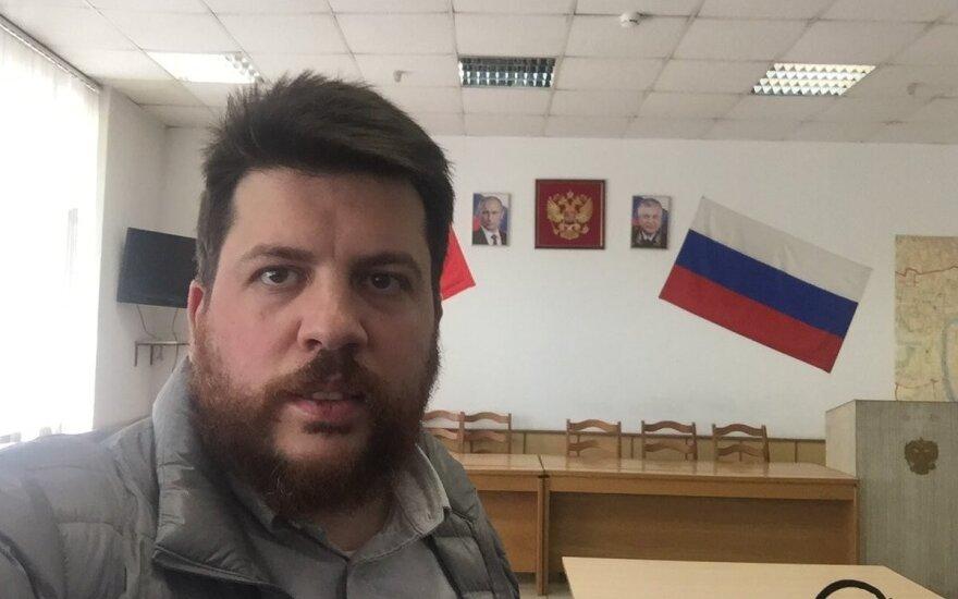 Главу штаба Навального арестовали на 30 суток