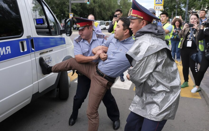 Protestas Kazachstane