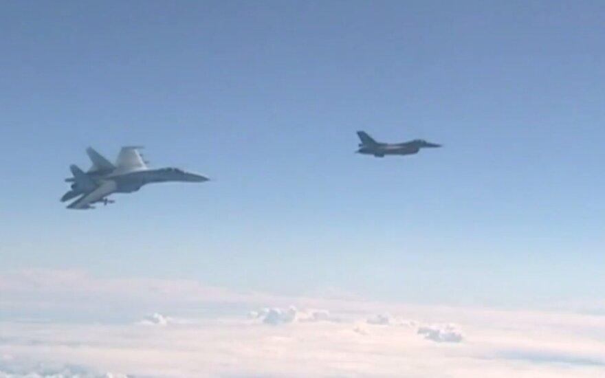 Rusijos ir NATO naikintuvai
