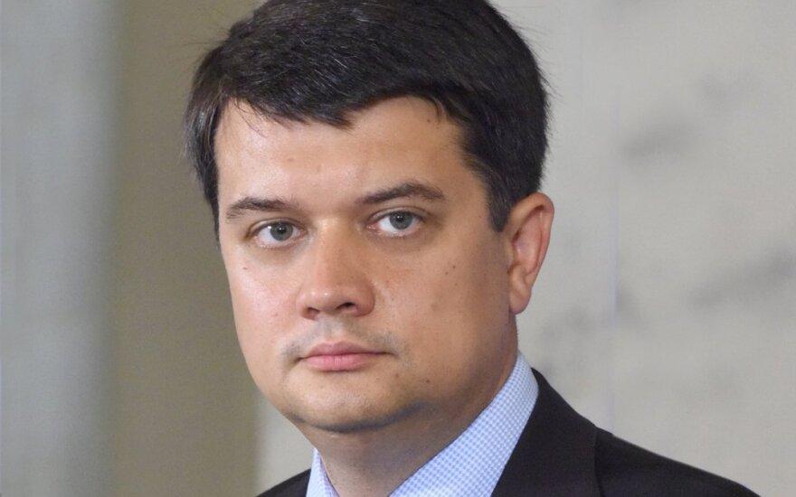 Украинский спикер: белорусские власти должны искать согласие с населением