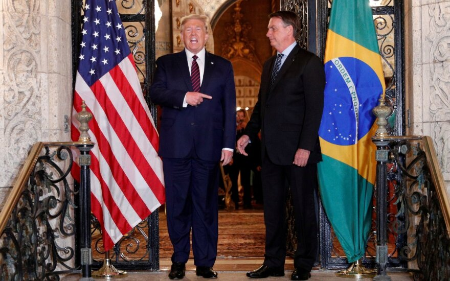Donaldas Trumpas, Jairas Bolsonaro