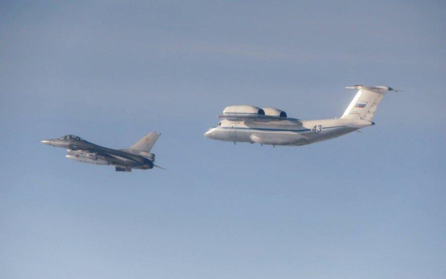 Самолёты воздушной полиции НАТО только раз сопровождали российский транспортник