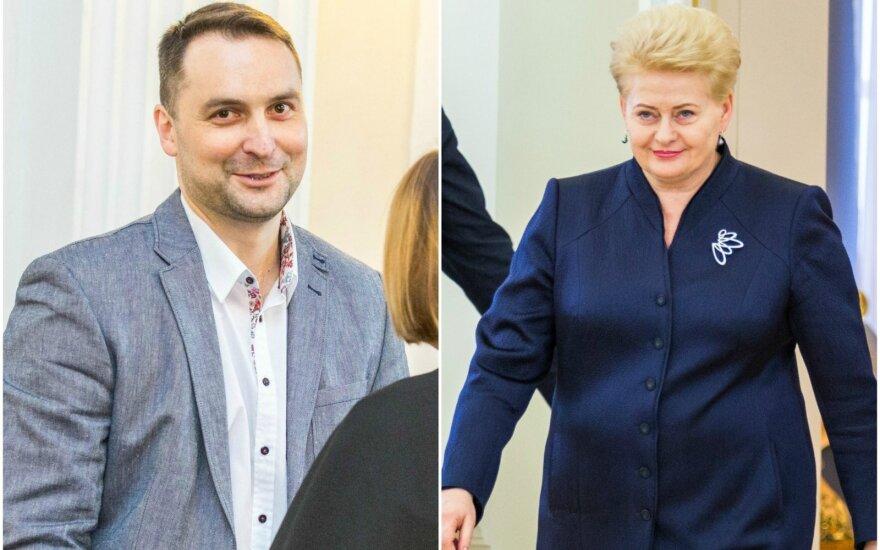 Секреты шпионажа: сотрудника ФСБ интересовали и личные телефонные разговоры Грибаускайте