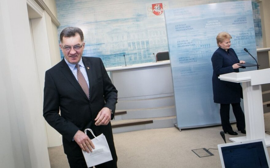 Butkevičius kandydatem na premiera