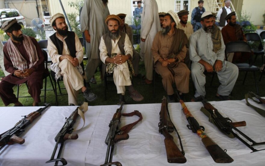 Talibano atstovai Afganistane