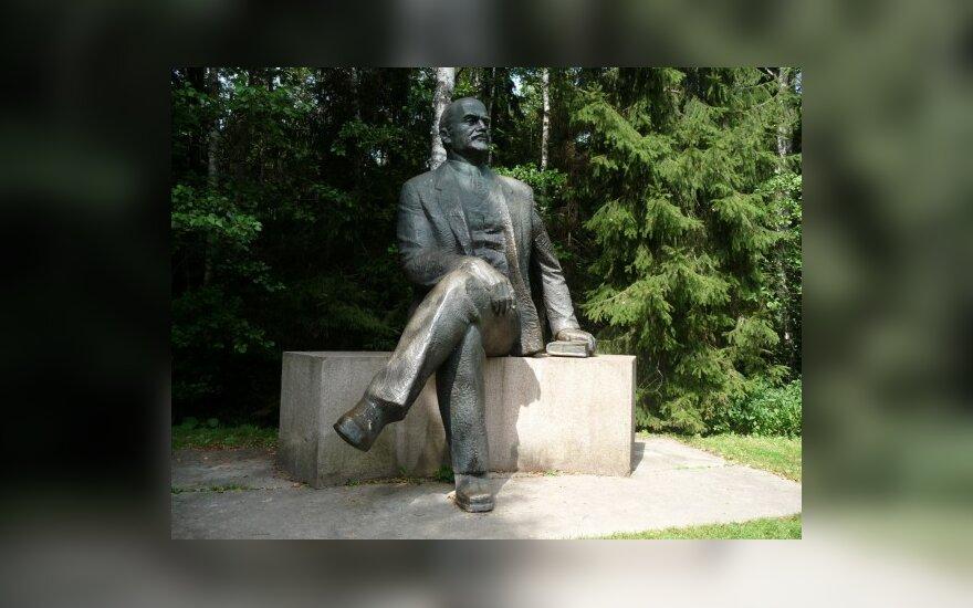 Grūto parkas. Druskininkų Leninas