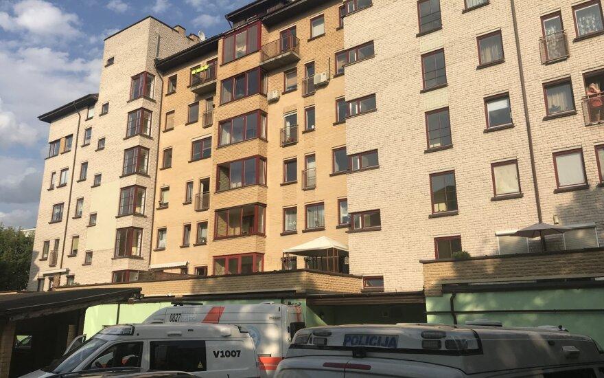 Vilniuje iš šešto aukšto iškrito vaikas