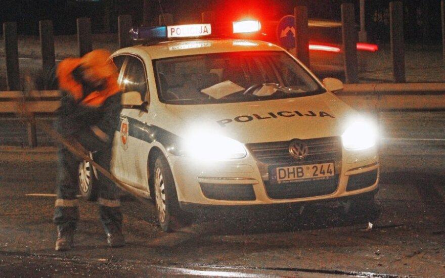 Пьяный водитель BMW таранил два полицейских экипажа
