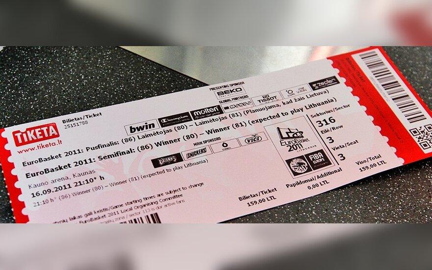 Europo čempionato pusfinalio bilietas