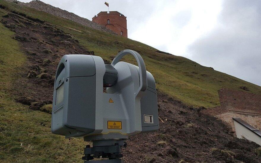 Gedimino kalno skenavimas