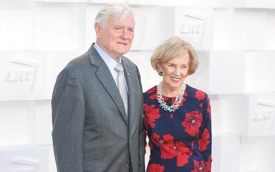 Адамкус и Адамкене отмечают 65-ю годовщину свадьбы