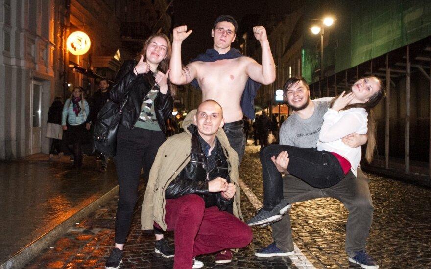 Rugsėjo 1-osios naktis Vilniuje