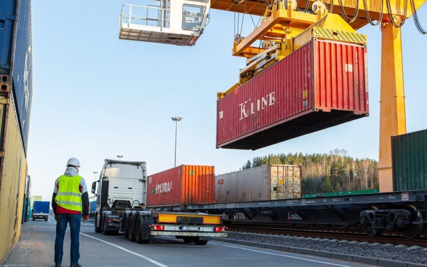 Į Lietuvą atvyko pašto traukinys iš Kinijos