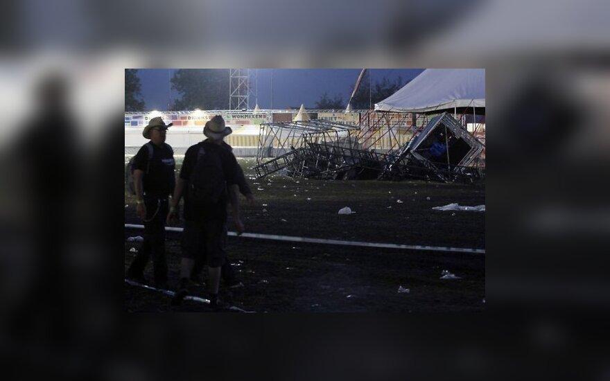 На фестивале в Бельгии от урагана погибли 5 человек