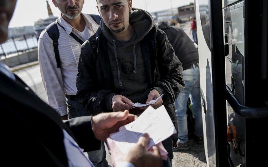 Беженцы уже разведывают обстановку в Клайпеде
