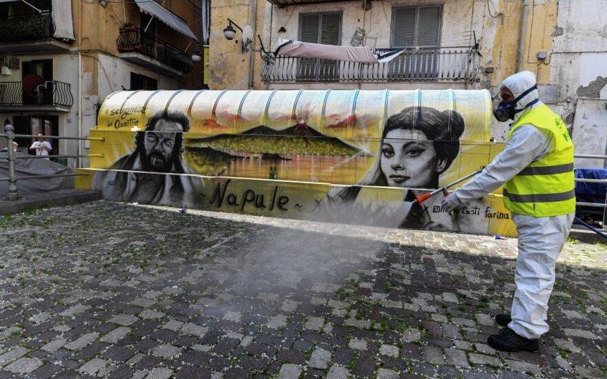 Darbuotojai Italijoje