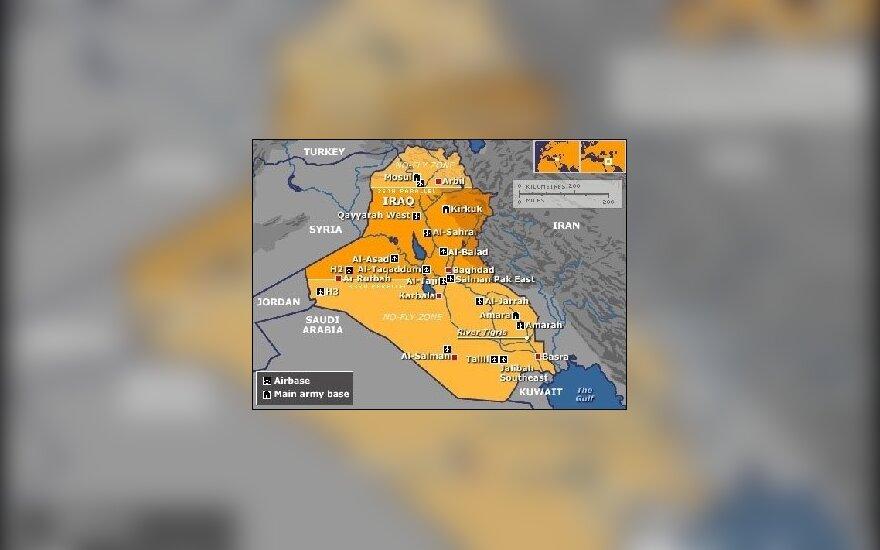 Irako karinės bazės