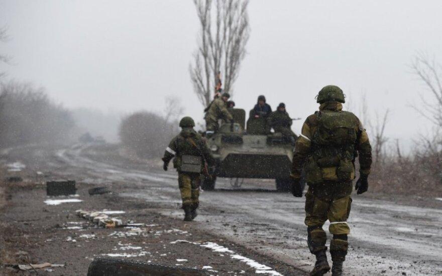Вблизи Дебальцево продолжается бой