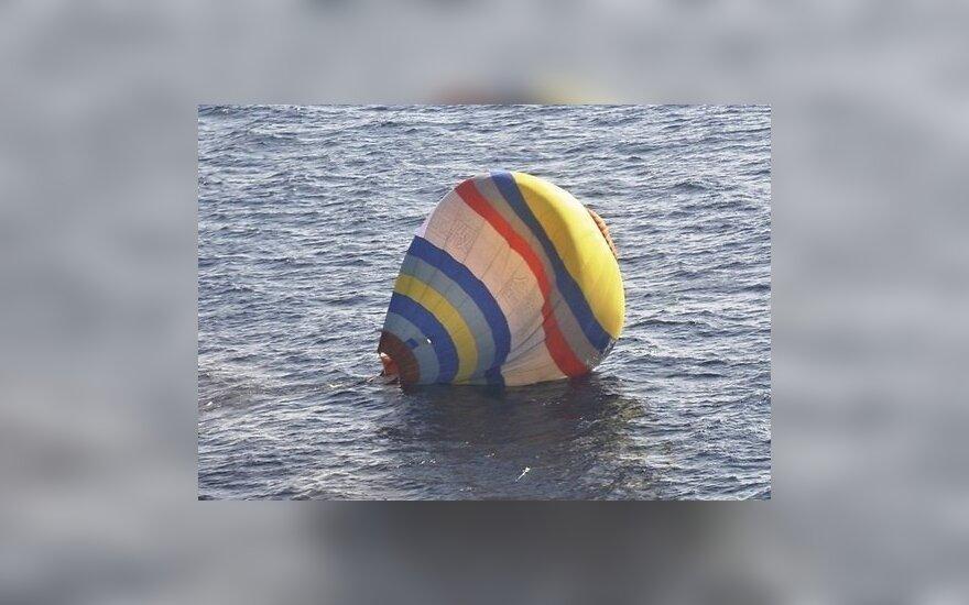 Полет на шаре к спорным островам потерпел фиаско
