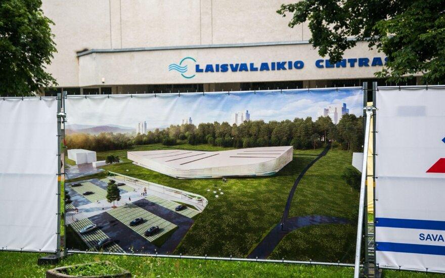 Затягивается и дорожает строительство Лаздинайского бассейна