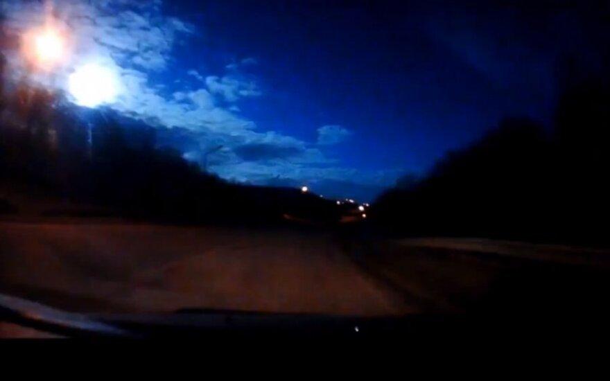 Meteoryt nad Murmanskiem