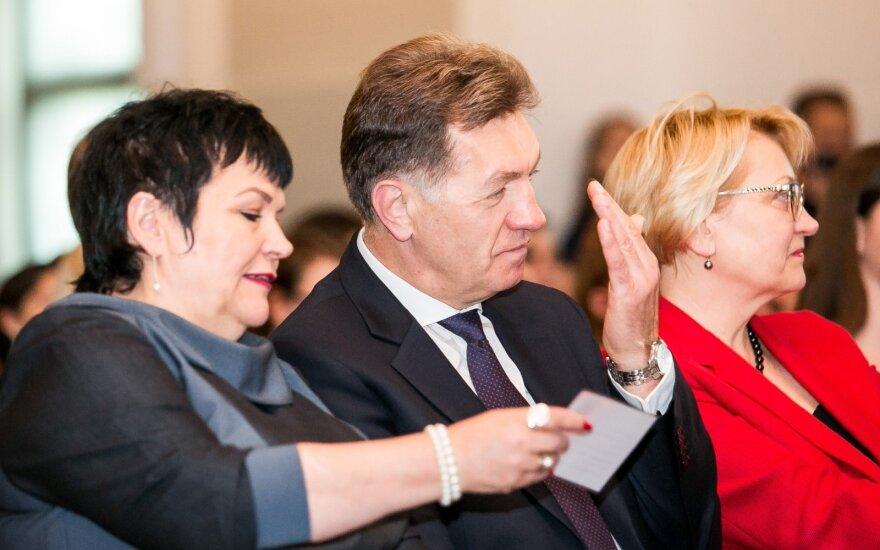 Audronė Pitrėnienė ir Algirdas Butkevičius