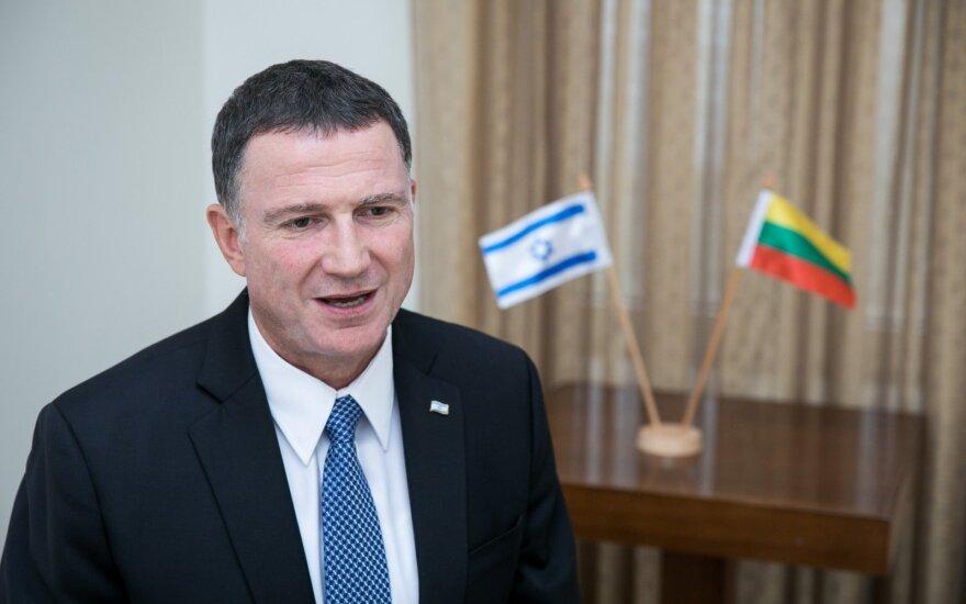 Главы парламентов Литвы и Израиля обсудили необходимость прямых рейсов