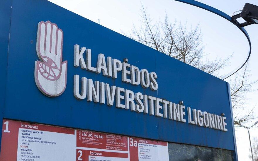 Клайпедской университетской больнице разрешили возобновить деятельность